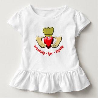 Claddagh Iren-Symbol Kleinkind T-shirt