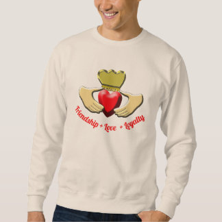 Claddagh Iren-Symbol Sweatshirt