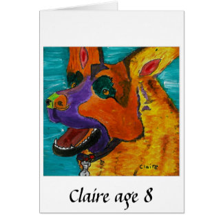 CLAIRE-Alter 8 Karte