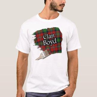 Clan Boyd schottisches Tartan-Farben-Shirt T-Shirt