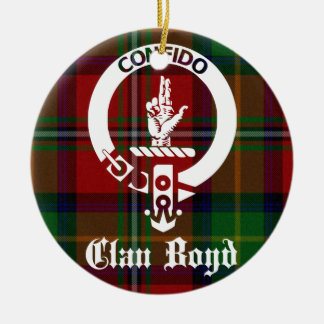 Clan Boyd WappenTartan Keramik Ornament
