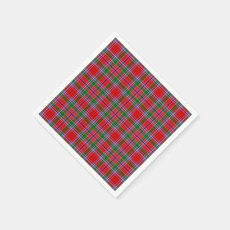 Clan Burrell Tartan kariert Serviette