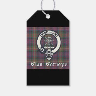 Clan-Carnegie-WappenTartan Geschenkanhänger