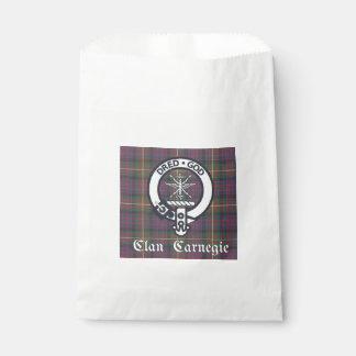 Clan-Carnegie-WappenTartan Geschenktütchen