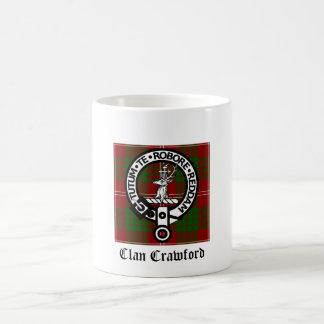Clan-Crawford-WappenTartan Kaffeetasse