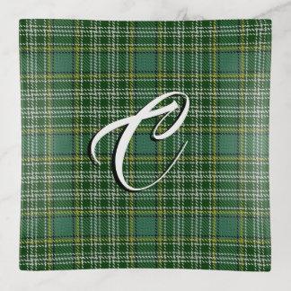 Clan Currie Tartan kariert Dekoschale