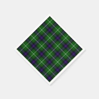 Clan-Donald Macdonald Tartan Servietten