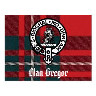 Clan Gregor Postkarten