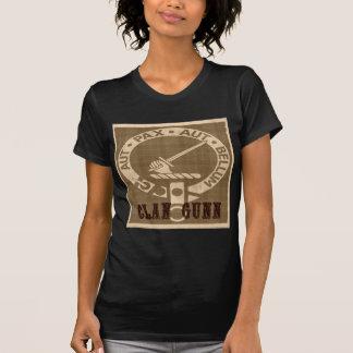 Clan-Gunn-Wappen-Abzeichen - Sepia T-Shirt