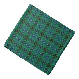 Clan Henderson hellgrüner, blauer und schwarzer Halstuch