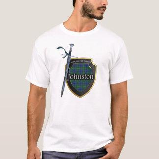 Clan Johnstone Johnston Tartan-Schild u. Klinge T-Shirt