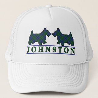 Clan Johnstone Johnston Tartanscottie-Hunde Truckerkappe