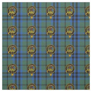 Clan-Keith alter Tartan u. Wappen-Gewebe Stoff