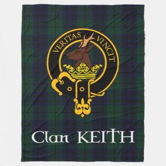 Clan-Keith-Wappen-moderne Fleece-Decke Fleecedecke