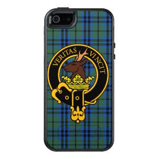 Clan-Keith-Wappen u. Tartan-Telefon-Kasten OtterBox iPhone 5/5s/SE Hülle