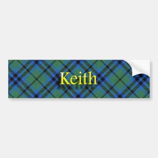 Clan-KeithScottish Autoaufkleber