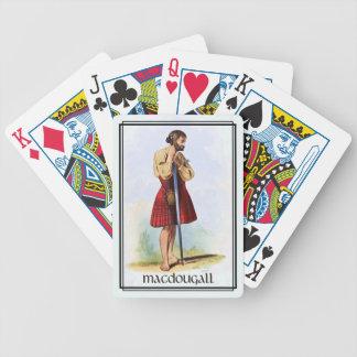Clan MacDougall klassische Schottland Bicycle Spielkarten