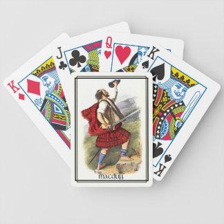 Clan MacDuff klassische Schottland Bicycle Spielkarten