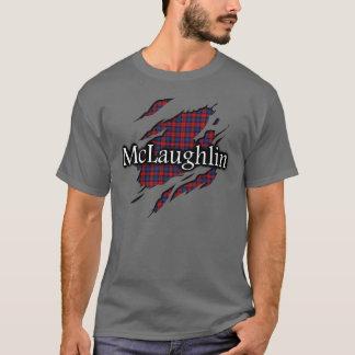 Clan MacLachlan McLaughlin Tartan-Geist-Shirt T-Shirt