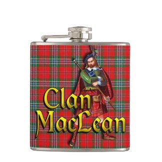 Clan MacLean altes Schottland Flachmann