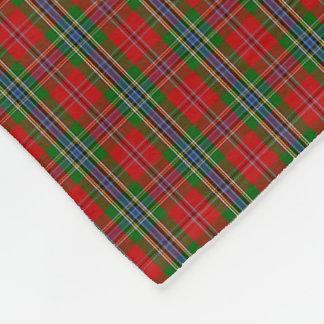 Clan MacLean von Duart Tartan Fleecedecke