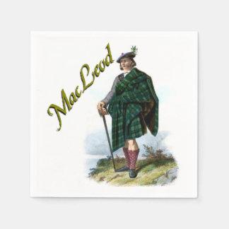 Clan MacLeod schottische Traumservietten Papierservietten