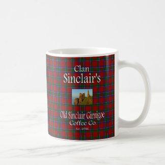 Clan-Sinclairs alter Kaffee Co. Sinclairs Girnigoe Kaffeetasse