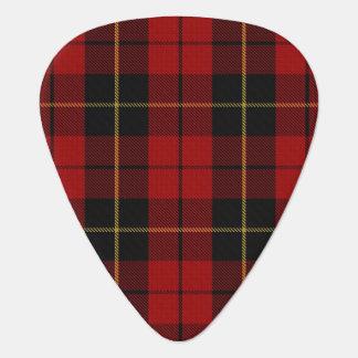 Clan-Wallace-Töne von SchottlandTartan Plektrum