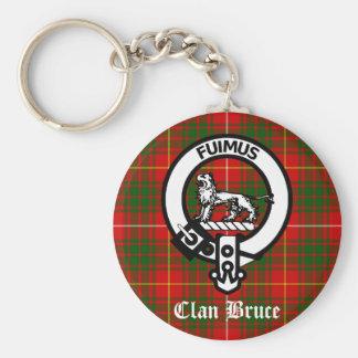 Clanbruce-WappenTartan Schlüsselanhänger