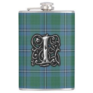ClanIrvine Irwin Tartan-alte Schottland-Flasche Flachmann