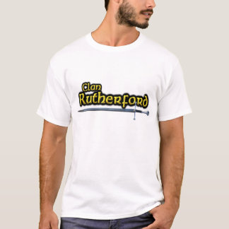 ClanRutherfordinspirierter Scottish T-Shirt