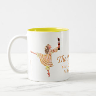 Clara und die Nussknacker-Tasse Zweifarbige Tasse