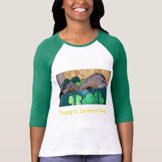 Clara und Maude St Patrick TagesT - Shirt