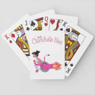 ClaraBelle blaue Spielkarten