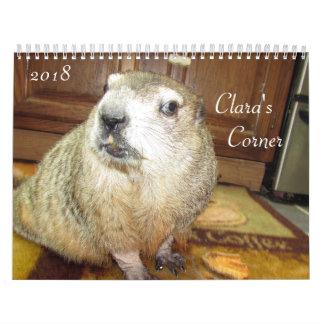 Claras EckGroundhog Kalender 2018 B