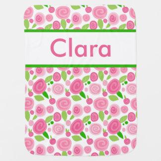 Claras personalisierte Rosen-Decke Puckdecke
