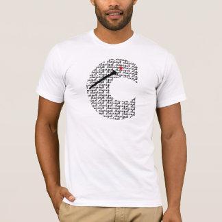 Clarinet-Buchstabe C T-Shirt