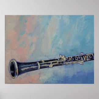 Clarinet-Druck Plakatdruck