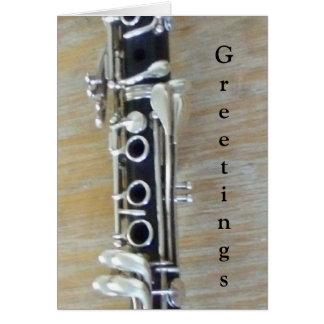Clarinet Karte