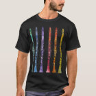 Clarinet-Zeichenstifte T-Shirt