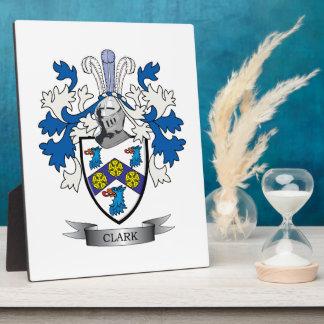 Clark-Wappen Fotoplatte