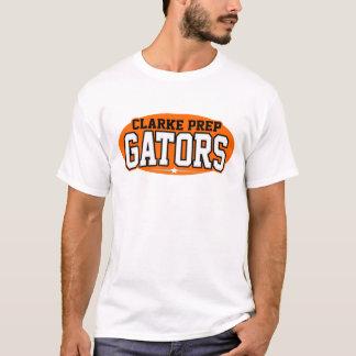 Clarke-Vorbereitungs-Highschool; Alligatoren T-Shirt