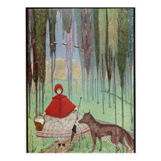 Clarkes Märchen Postkarte