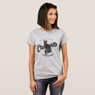 Clarksville Katzen über dem der Fluss-BW das Shirt