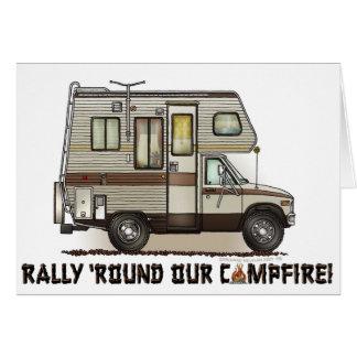 ClassC Camper RV-Magneten Karte