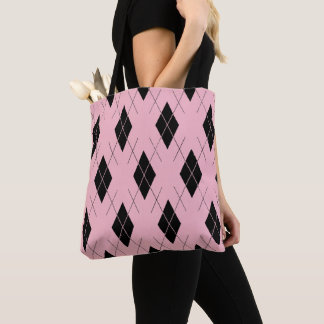 Classic-Style-Argyle-Totes_Bag '' s_Multi-Style'- Tasche