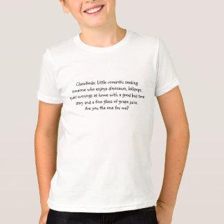 Classifieds: Wenig romantisch T-Shirt