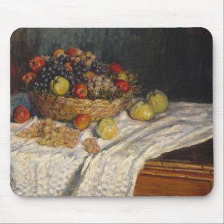 Claude Monet - Äpfel und Trauben Mousepads