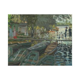 Claude Monet - Badegäste am La Grenouillere Leinwanddruck