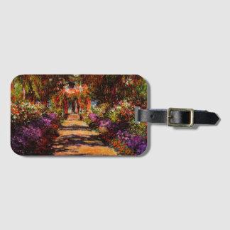 Claude Monet-Bahn in Monets Garten bei Giverny Kofferanhänger